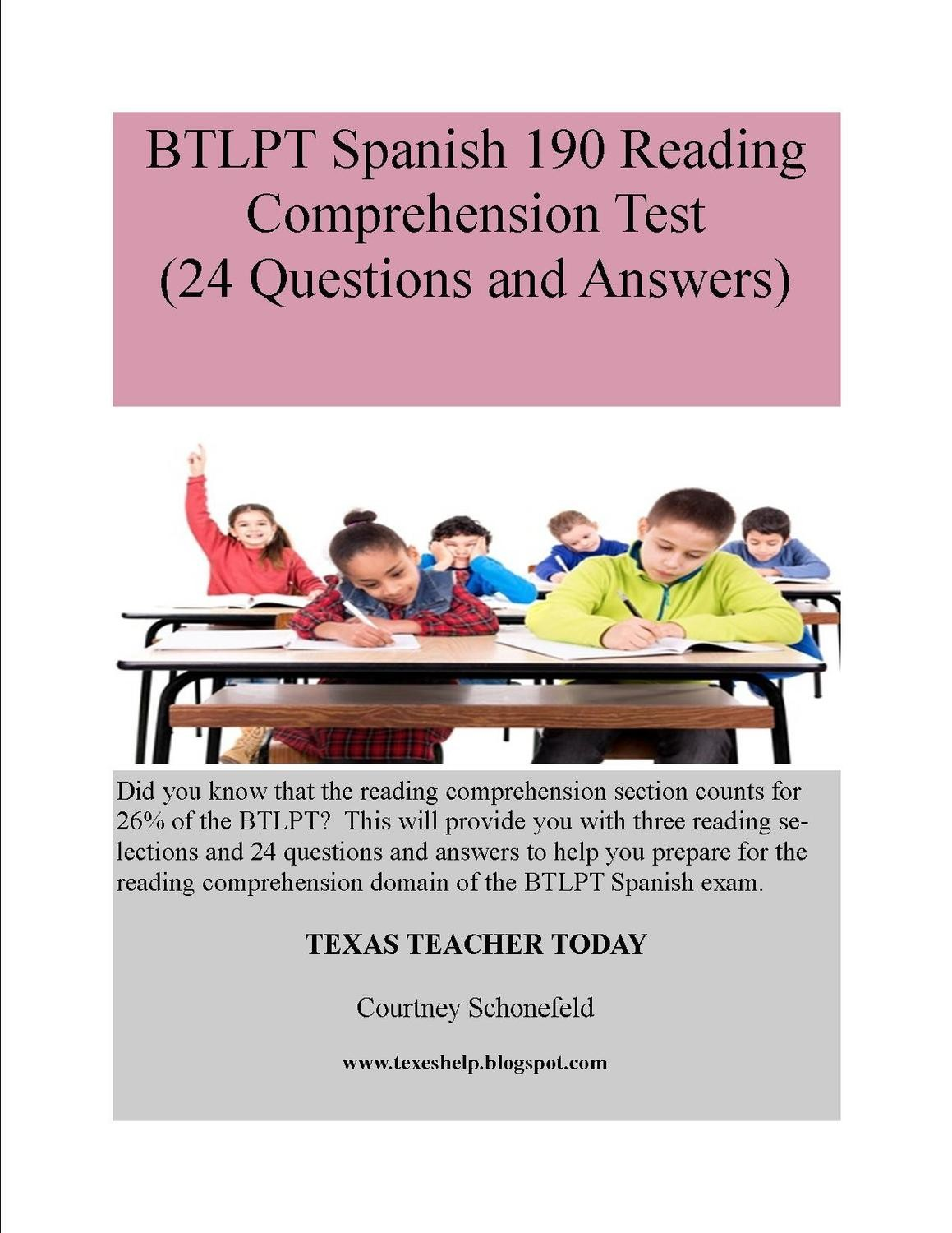BTLPT Reading Comprehension Test