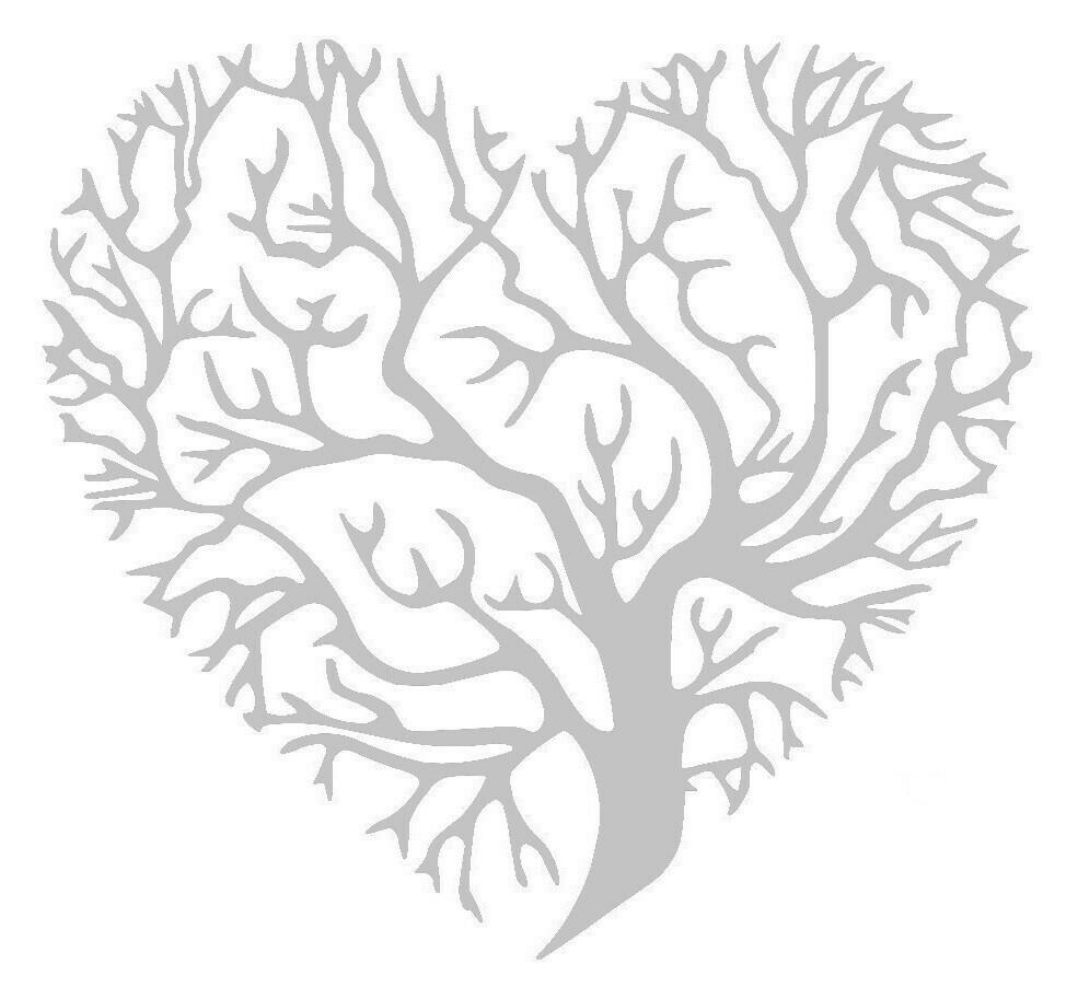 Der HerzBaum (ohne Rahmen)