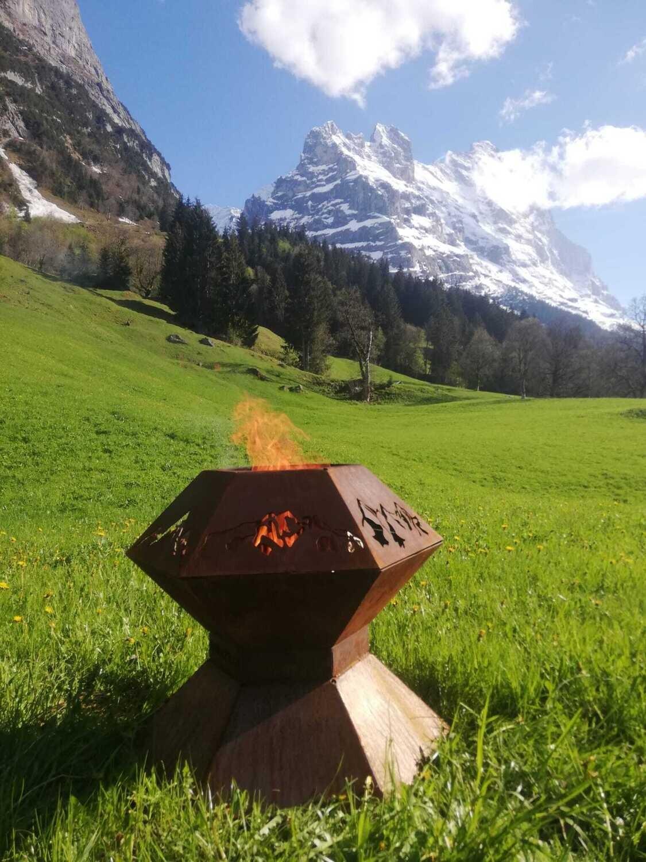 Michi's Panorama Feuerschale / Grill