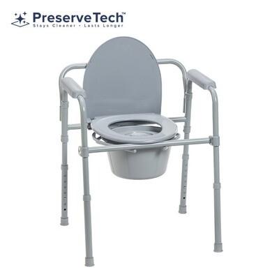 PreserveTech™ Folding Commode