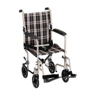 19 inch Aluminum Transport Chair