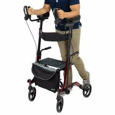 Upright Rollator Walker