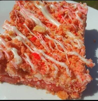 Strawberry Crunch Brownie