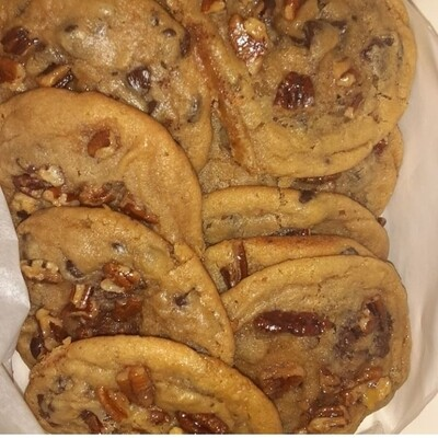 Butter Pecan Chocolate Chip Cookie