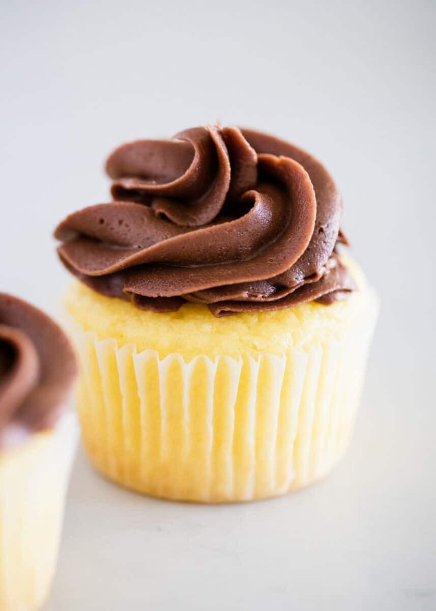 Butter Yellow Cupcake