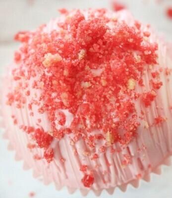 Strawberry Cheesecake Cocoa Bomb