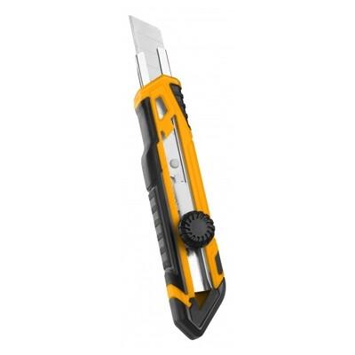 Нож с сегментным лезвием INGCO