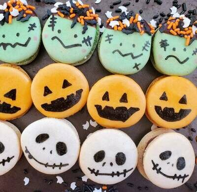 Halloween Macaron (Available Now Till Oct 31)