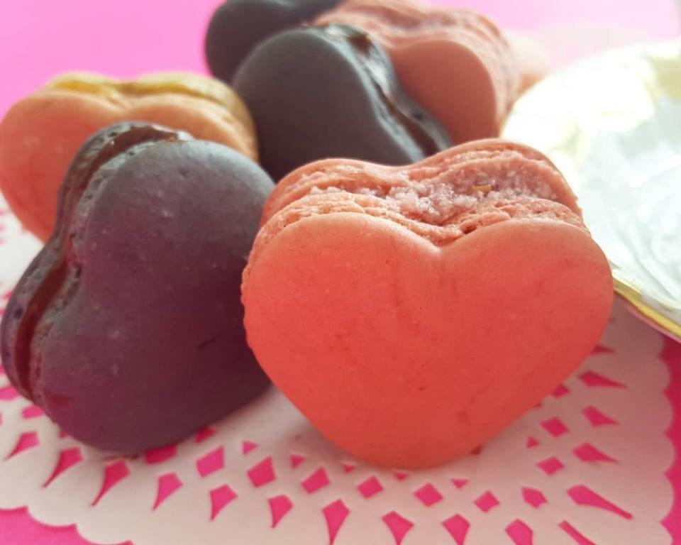 Heart-Shaped Macaron