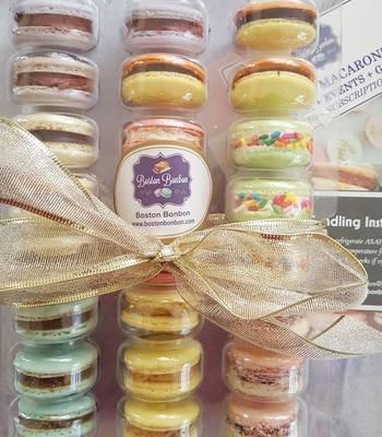 24 Assorted Flavors Macaron Box