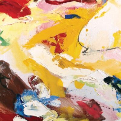 Yellow Dancer 100 x 100 cm