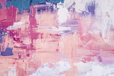 Pink Train 150 x 100 cm