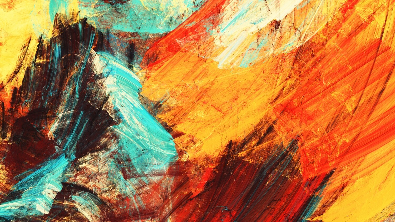 Abstract schilderij 160 x 90 cm