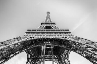 Eiffeltoren Parijs 150 x 100 cm