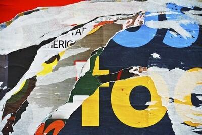Collage 150 x 100 cm