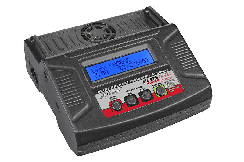 RC Plus Power Plus 80 lader