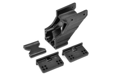 Team Corally Wing Mount - V2 - Adjustable - Composite - 1 Set
