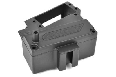 Team Corally Servo Mount - Receiver Box - Composite - 1 Set