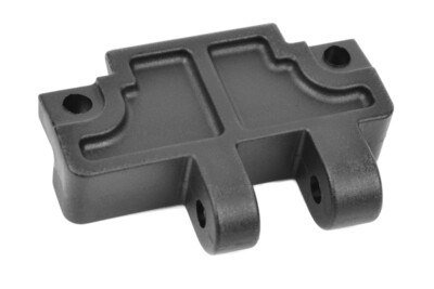 Team Corally Gearbox Brace Mount A - Rear - Composite - 1 pc