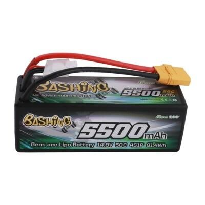 Gens Ace Bashing 5500mAh 14.8V 4S 50C LiPo (XT90)
