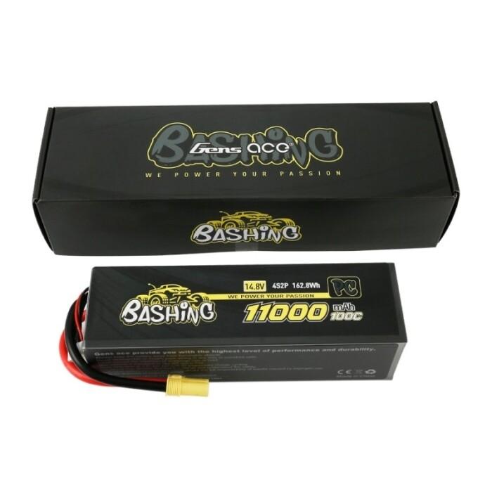 Gens Ace Bashing 11000mAh 14.8V 4S 100C LiPo (EC5)