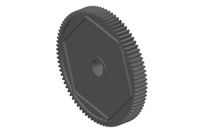 Team Corally Spur Gear 48DP 84T Delrin CNC