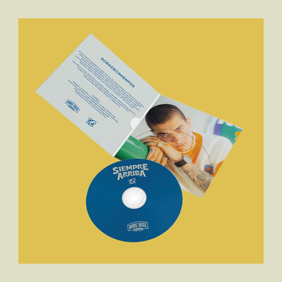 CD SIEMPRE ARRIBA - ROBOT95 AUTOGRAFIADO