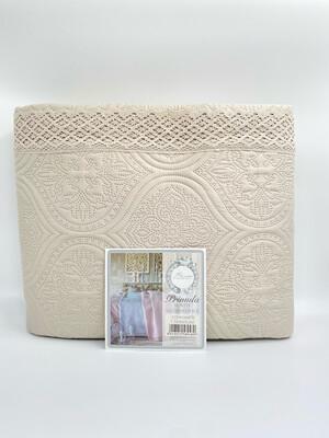 Boutis Matrimoniale cm260x260 Primula Blanc Mariclò