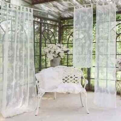Tenda con Passanti 1 Telo 150x300cm Bianca Blanc Mariclò Collezione Replica