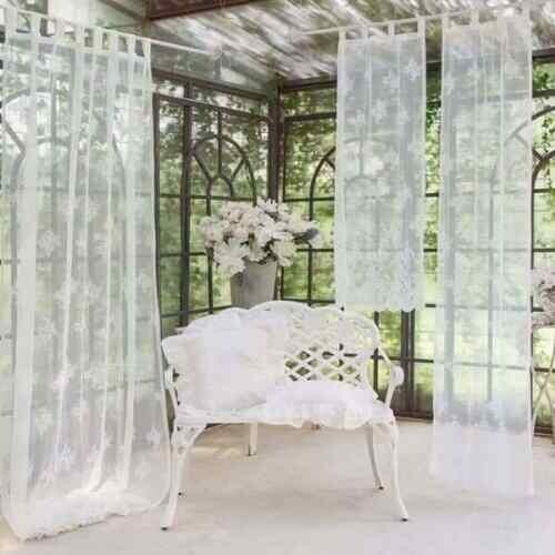 Tenda con passanti 60x220cm Bianca Collezione Replica Blanc Mariclò