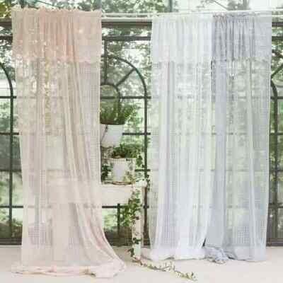 Telo Tenda 140x290cm Bianca Collezione Vissi D'Arte Blanc Mariclò