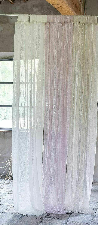 Telo Tenda con Passanti Collezione Otello 140x290 Colore Rosa Blanc Mariclò
