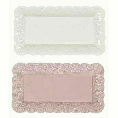 Vassoio in Ceramica Rosa Blanc Mariclò Collezione Le Petit Gourmand
