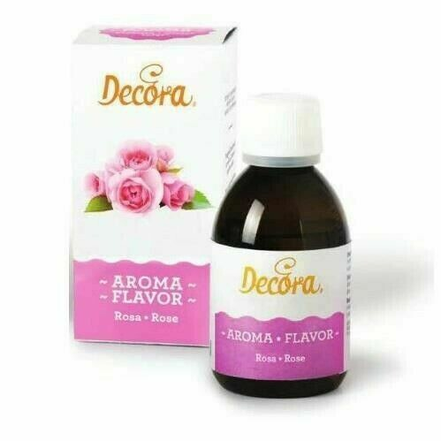 Aroma Liquido Rosa 50g Decora