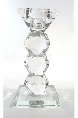 Candeliere in cristallo H 14cm Henriette