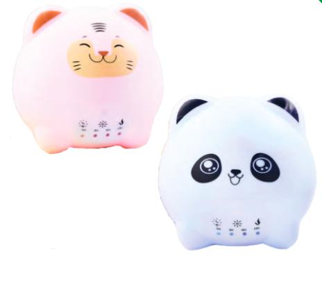Diffusore ad Ultrasuoni Double-face Tigro e Panda Nasoterapia