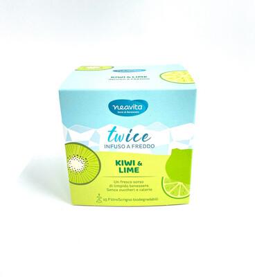 Twice-Imfuso a Freddo Kiwi e Lime 15 filtri Scrigno- Neavita
