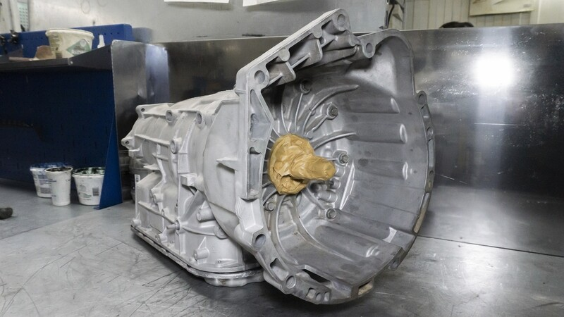 Восстановленная АКПП 6L45