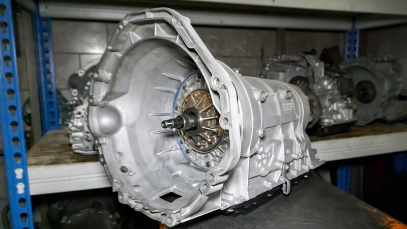 Восстановленная АКПП ZF 6HP21