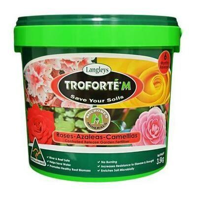 Troforte M Roses, Azaleas and Camellias
