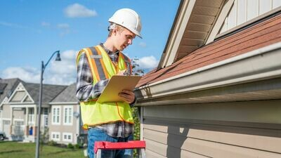 Roof Inspection Security Deposit