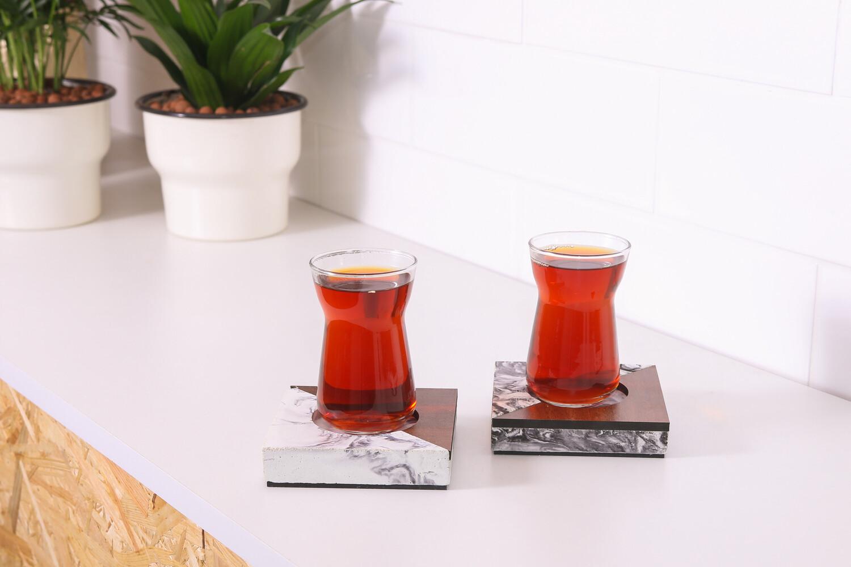 Concrete Tea Coasters
