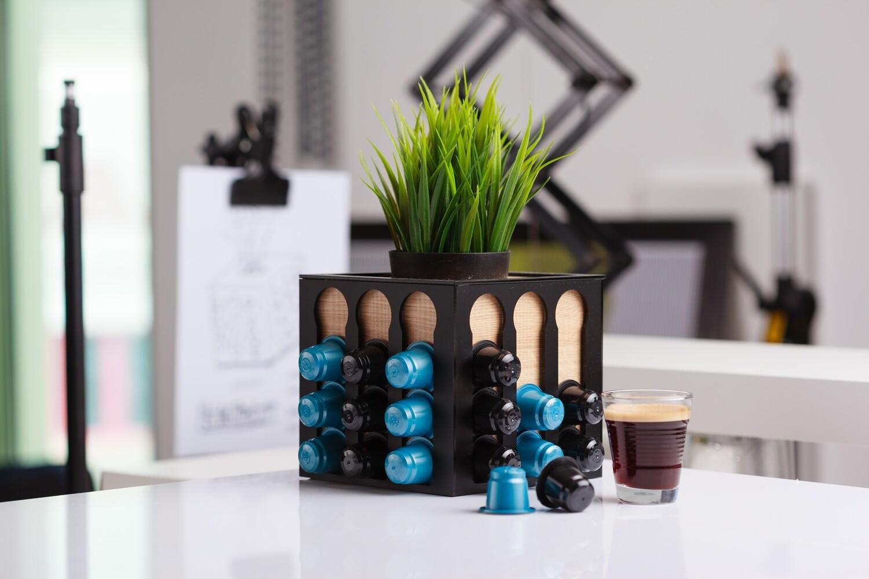 Coffee Planter - Light Wood