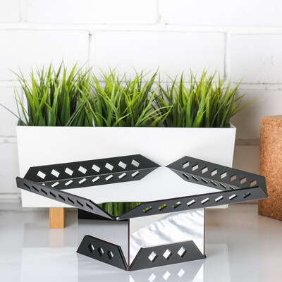Small buffet Stand - Black