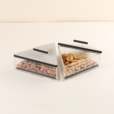 Small Triangle boxes - Height 7cm
