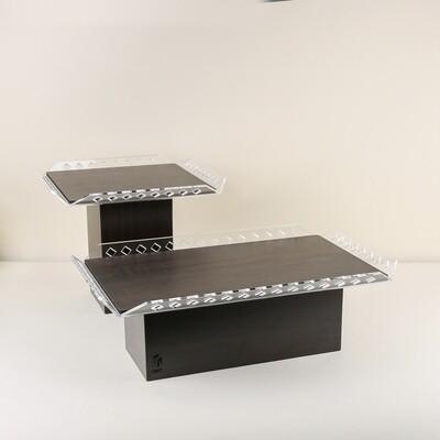 Buffet Stand Set - Wood