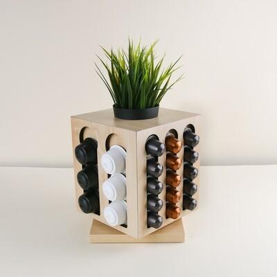 360 Coffee Planter - Light Wood