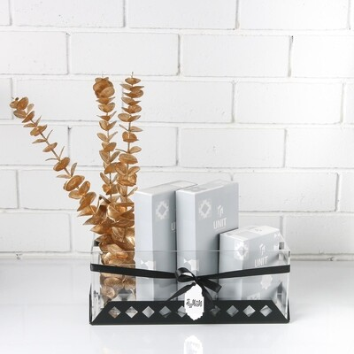 Fragrance Gift with Flowers