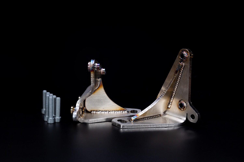 Rs6 4b / c5 Getriebelagerhalter links und rechts aus Edelstahl