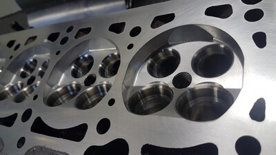 Zylinderkopf Brennraum CNC-Bearbeitung Audi 5 Zylider 20V Turbo & 4 Zylinder 16V Turbo